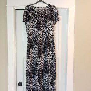 Lularoe Cheetah Maxi Dress